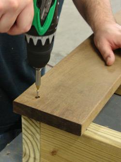 Installing Wood Decks How To Hide Fasteners Hidden